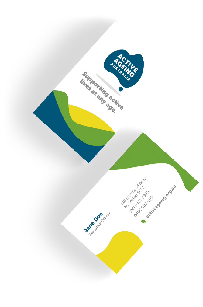 Active Ageing Australia Business Cards