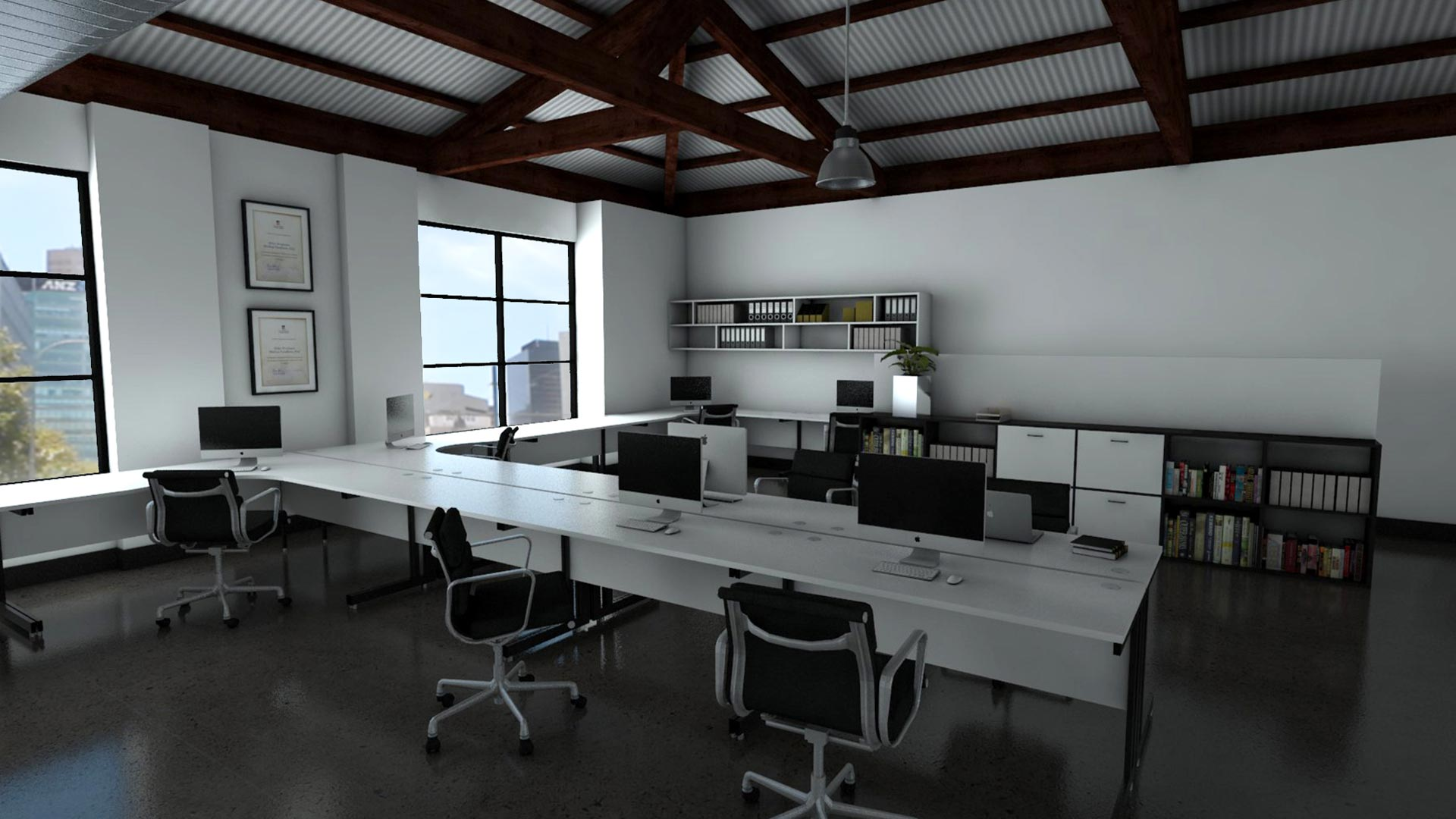 Interior Office Visualisation