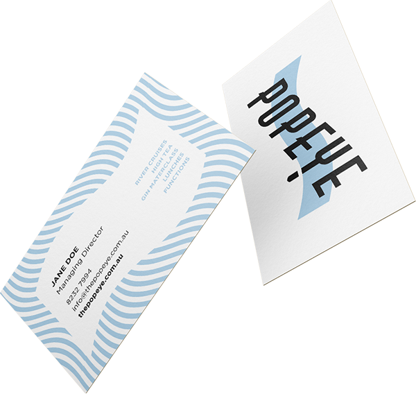 Popeye Business Cards