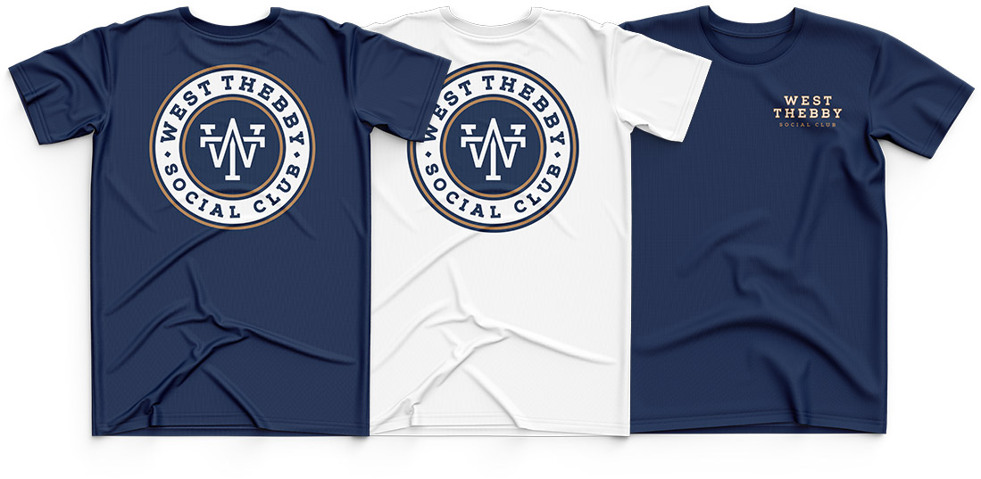 West Thebby Social Club Tees